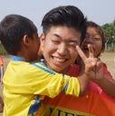 カンボジアに小学校建設をしている大学生