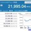 日経平均株価はやはり下がりました。