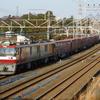 常磐線を走る2092レ貨物列車