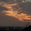 2016年末一人旅 第二週(59)ライカムイオン駐車場からの夕陽