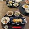 チキン南蛮と日本の日用品のお買い物