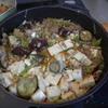 幸運な病のレシピ( 1508 )昼:鮭白子煮付け、麻婆豆腐ナス入り、塩サバ・鳥手羽下ごしらえ(麹付け)