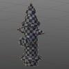 Blender 252日目。「消火栓のモデリング」その6「UV展開」。