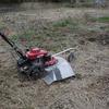 自走式草刈機のおかげでジャガイモ植付が楽ちんでした