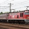 第527列車 「 広島送りとなった無動力回送のEF81 719を狙う」
