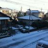 大晦日: 大雪とジョギング(iPod + GPS)