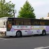 国道9号線を通る路線バス(島根県東部)