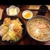 近江町市場の「百万石うどん」で天丼定食を食べた