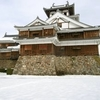 雪の福知山城と御霊神社