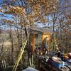 NPO法人主催の企画「美瑛の森の遊び場作り」
