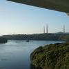 旧佐世保無線電信所(針尾無線塔)と、西海橋