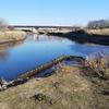 新河岸川サイクリング その4 新河岸川を下って黒目川と合流し朝霞水門へ
