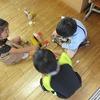 1年生:算数 積み木を積んで形をつくる