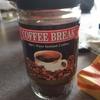 かし原の塩ようかんとダイソーのインスタントコーヒー