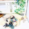 【ディプロマコース】アーティフィシャルフラワーで、シックな花束を♪