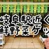 岐阜駅近く新鮮朝採り野菜を激安50円でゲットできる広場はJA直売まちなかステーション神六(かんろく)!