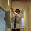営業松本S、全館空調「スマートエアーズ」のフィルターの掃除に挑戦!!& いやされるうれしいラブレター♪