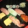 お寿司は出前で家族団欒で食べるのが大好きです。