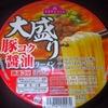 TV 大盛り 豚コク醤油ラーメン 102−6円