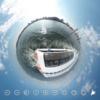 【横浜 観光スポット】 横浜 シーバス で海からの眺めを体感 #360pic