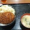 高円寺【あげもんや】ソースカツ丼(大盛) ¥860