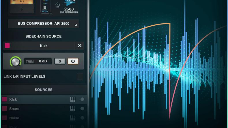 UNIVERSAL AUDIO Luna 1.2でMCUコントローラーとサイド・チェイン入力をサポート