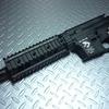 G&P製 ガスブロM4用 スカルフロッグ メタルフレーム + フロントセット