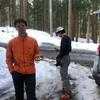 まるで春🌸な白鳥山BC⛷雪崩講習(実践編)