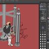Clip Studioで相輪塔を描こう!(その4)