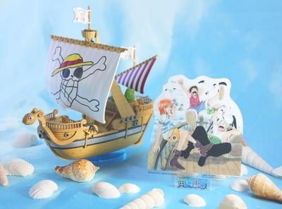 【Twitter夏休み特別企画連載まとめ】ワンピース偉大なる船コレクションゴーイング・メリー号メモリアルカラーVer.を作ろう!
