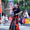 チームシモデン:7日・うらじゃ・岡山市役所筋演舞場「進」