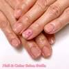 連日♪桜ネイルのリクエストです♡ワンポイントな桜とうる艶プラスのワンカラーネイル☆