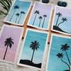 *【水彩画】南国のヤシの木を描いてみる♡*