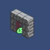 【Unity】2Dタイルマップ13 Playerが扉の前に移動したら扉を開く