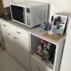 年末の最終確認。食器棚とテレビ台編。