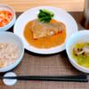 鯖の胡麻味噌煮 321 kcal|大根とにんじんのレモン漬け 100 kcal|生姜スープ 37 kcal|365日の献立記録