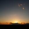 開陽台の夕日と星空と日の出