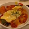 鯖のチーズトマトグリル