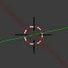 Blenderの3Dカーソルの使い方