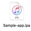 ipaファイルを直接iPhoneにインストールする
