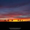 メルヘンの丘の夕焼け