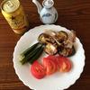 ★夏野菜の朝食