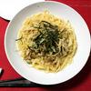 【食事】 今日の晩ごはん 和風きのこパスタとカルパッチョ