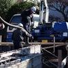 基礎工事 - コンクリート打設