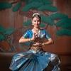 インド古典舞踊を能楽堂で撮影