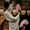 八坂神社でみた舞妓さんの舞い