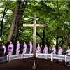 キリスト、青森の山村に眠る? 「墓前」で慰霊の奇祭