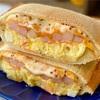 【レシピ】ポテトサラダとベーコンのごちそうホットサンド