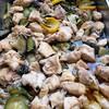 鶏肉とズッキーニ、米ナスの黒酢煮
