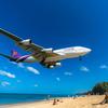 海のある暮らし、飛行機ビーチでフォトシューティング📷